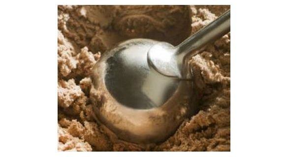 Crème glacée et sirop d'érable