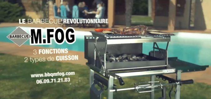 Présentation du barbecue à charbon MFOG